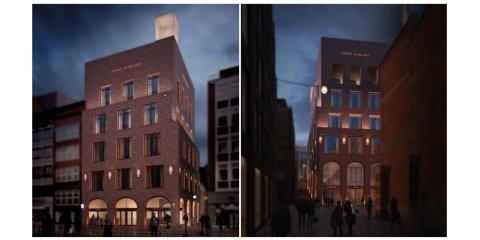 Visualisierung der neuen Gebäude für die Johann Jacobs Kaffee Akademie