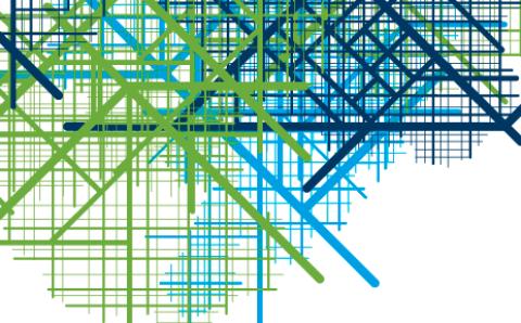 BIKE IT Wallring Linienraster Grafik