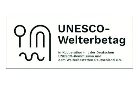 Logo der UNESCO zum Welterbetag, Quelle - Deutsche UNESCO-Kommission