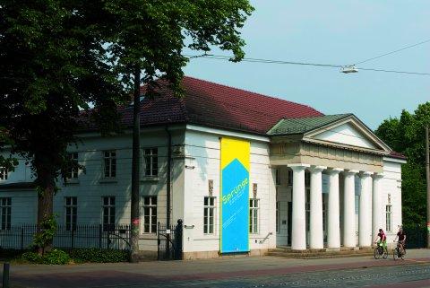 Frontansicht des Wilhelm Wagenfeld Haus