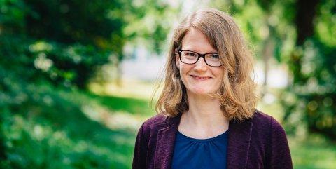 Prof. Dr. Simone Scherger in der Natur