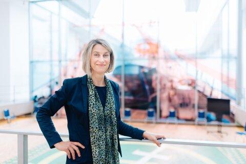 Portraitfoto von Frau Prof. Dr. Sunhild Kleingärtner im DSM