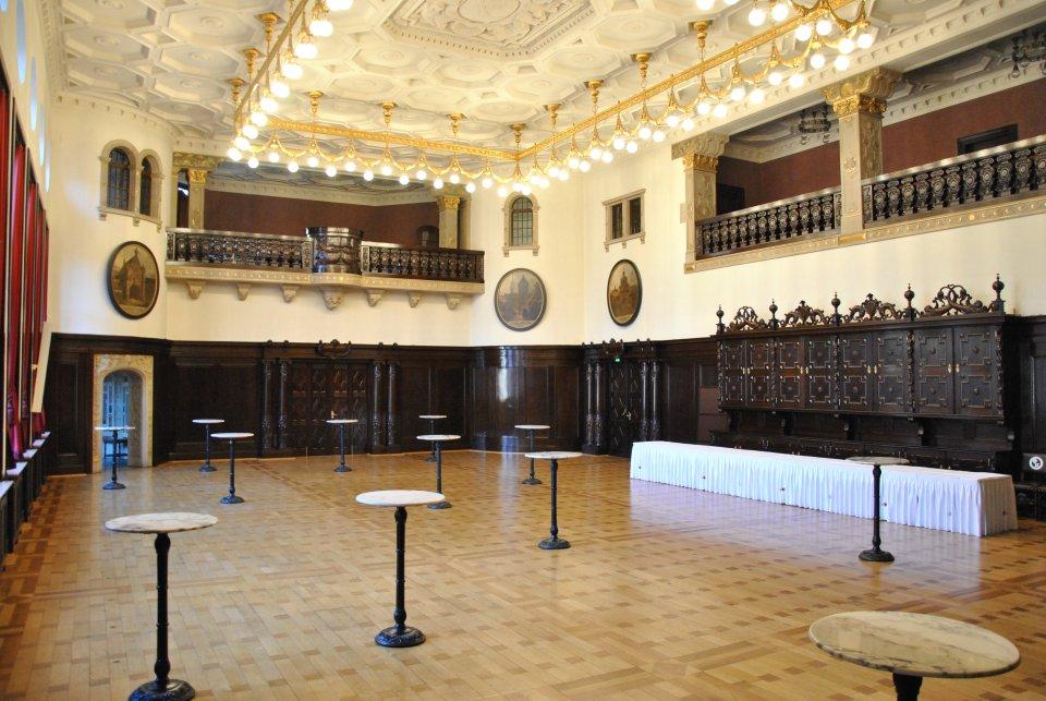 Festsaal im Rathaus
