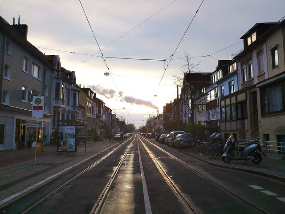 Straße in Bremen
