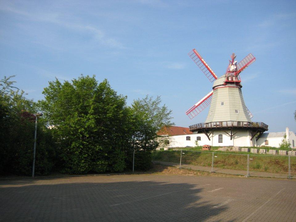Ein Foto der Arberger Mühle