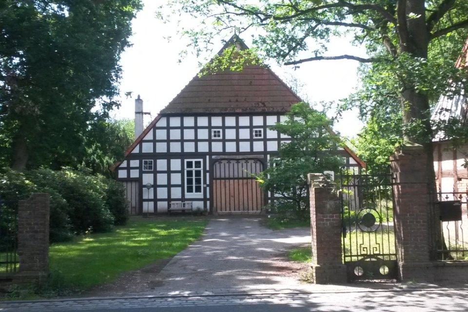Fachwerkhaus auf der Osterholzer Dorfstraße
