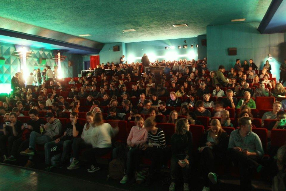 Ein voller Kinosaal während des Filmfestes 2017.