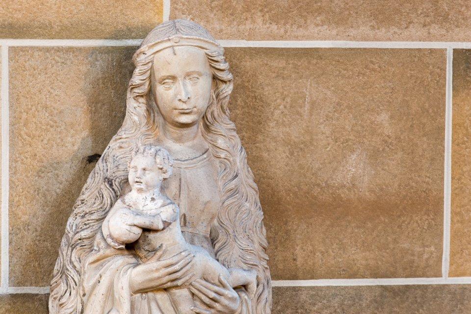 Beldensnyder-Madonna aus dem 16. Jahrhundert.