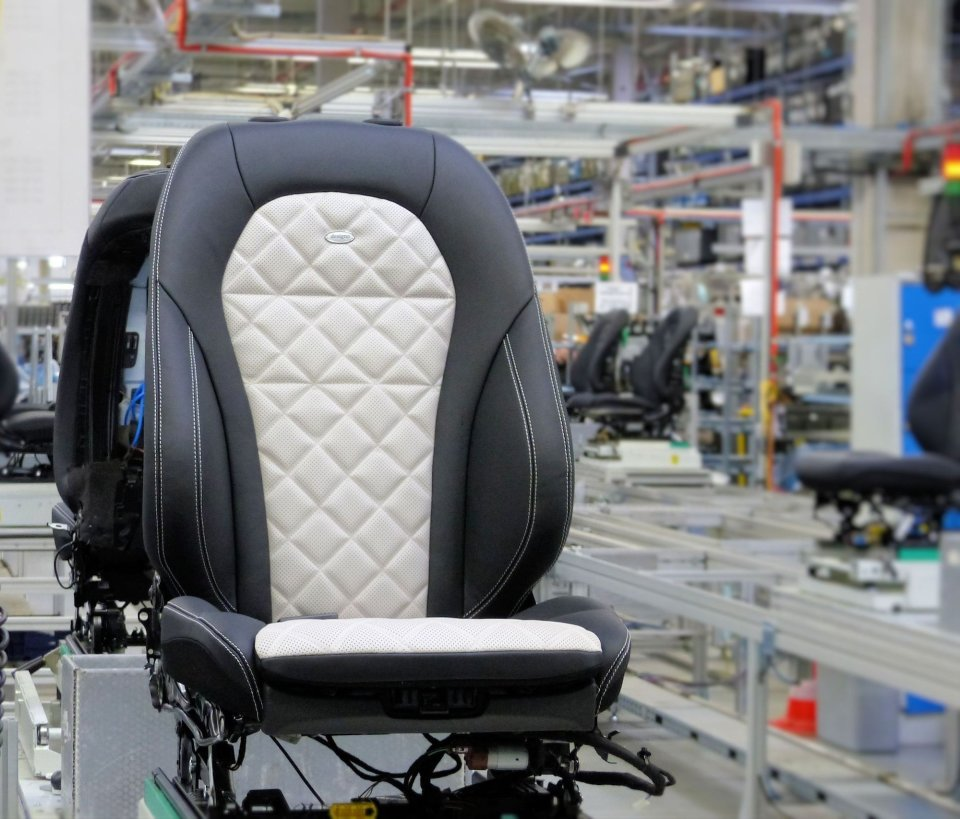 Die Lear Corporation produziert Autositze für das Bremer Mercedes-Benz Werk produziert (Quelle: Lear Corporation).