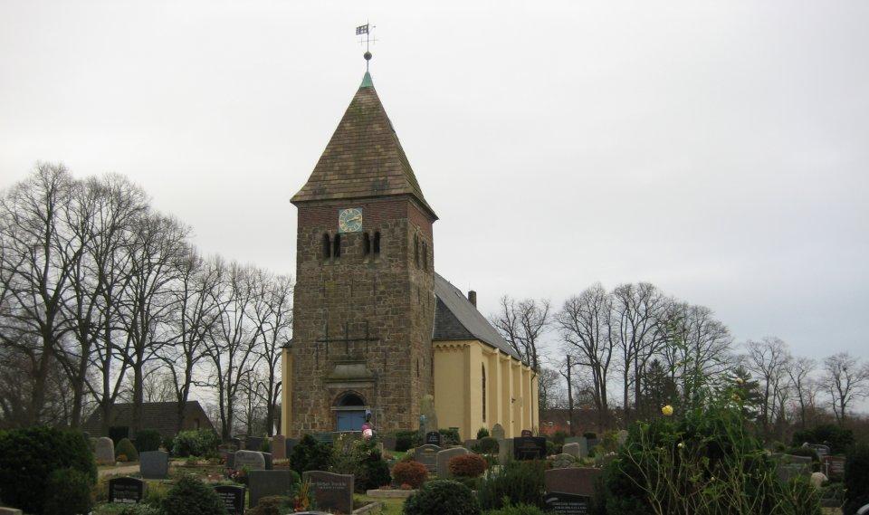 Die St. Johannis Kirche in Arbergen