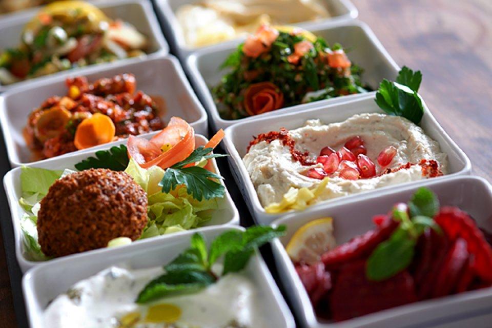 Mazza Speise vom Al Dar
