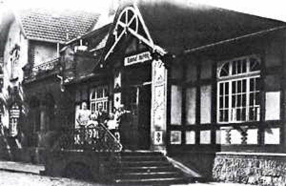 Der Huchtinger Bahnhof um 1940