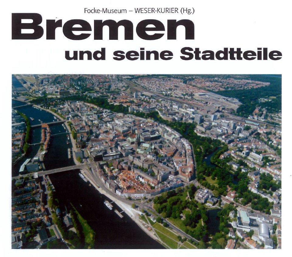 Ein Buchcover zeigt die Bremer Innenstadt