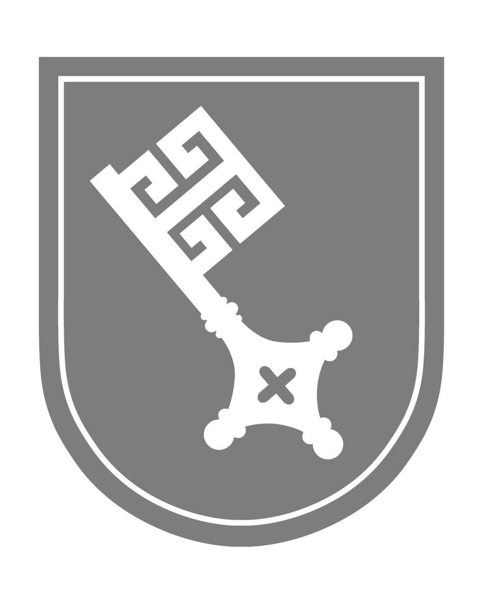 Ein Wappen mit Bremer Schlüssel