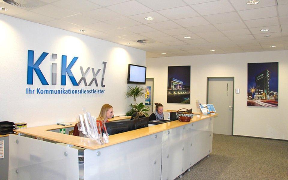 Blick in das KiKxxl Büro in Bremen