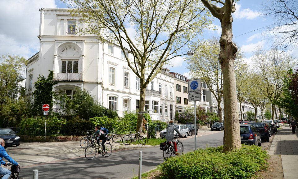 Stadthaus in der Humboldtstraße