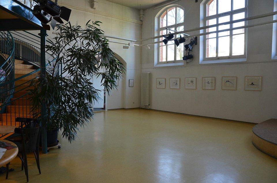 Der Saal des Kulturhauses Walle.
