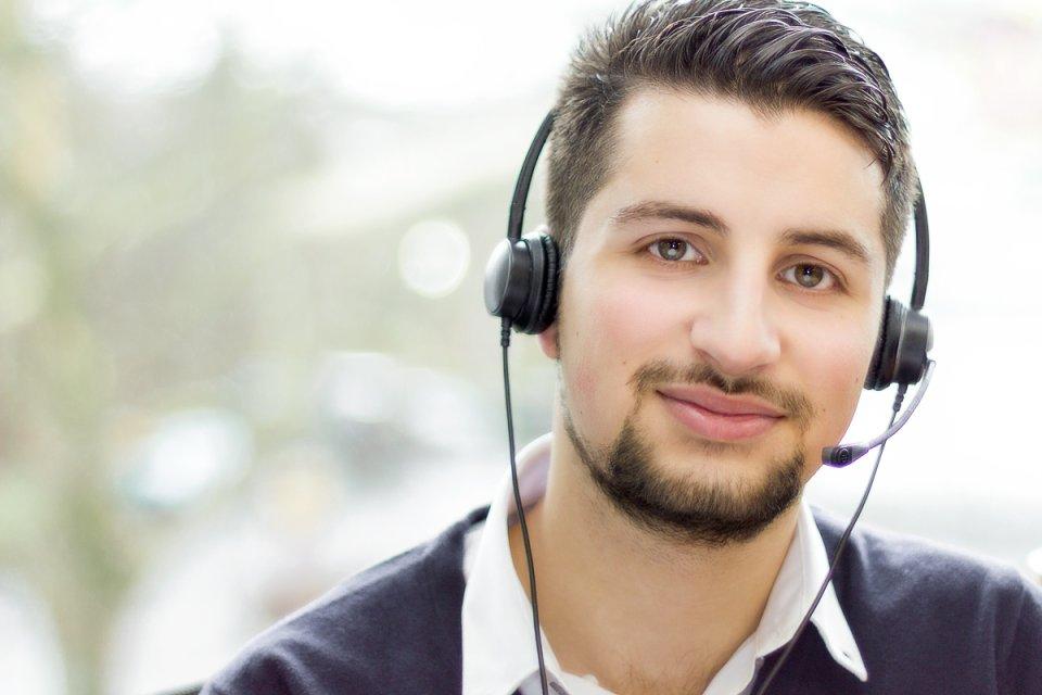 Ein Mitarbeiter der KiKxxl GmbH