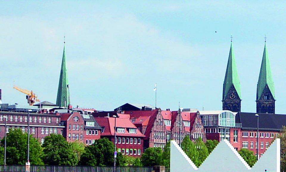 Ein Panorama-Blick über die Innenstadt