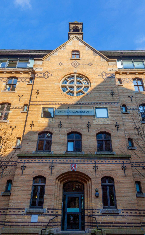 Blick auf das Gebäude der Staatsanwaltschaft in Bremen