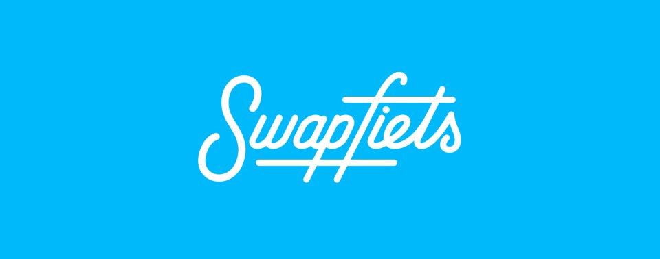 Auf dem Bild ist das Logo von Swapfiets zu sehen.