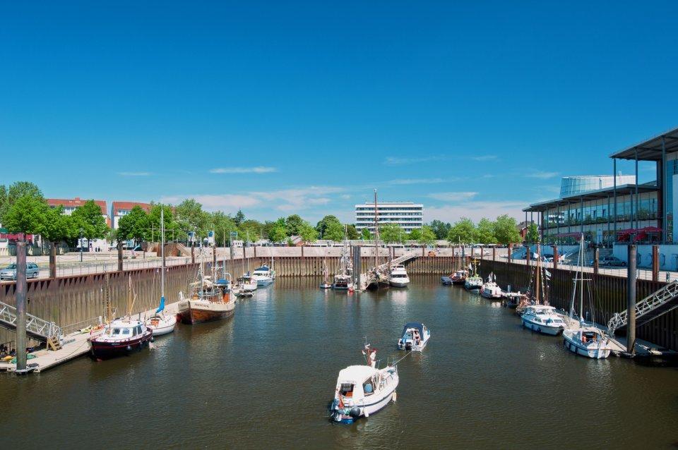 Vegesacker Hafenbecken